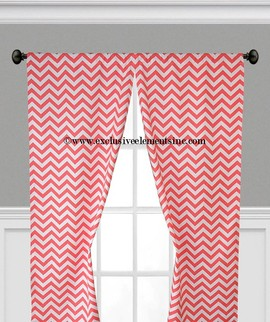 chevron curtain panels drapery